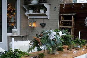 Holiday Outdoor Table
