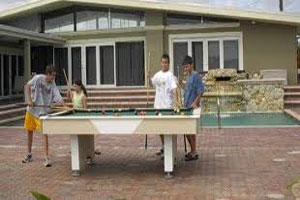 Outdoor Billiards Table