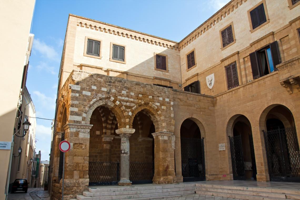 Brindisi, Portico dei Cavalieri Templari - Puglia - Italy